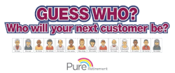 Guess Who? Who will your next customer be? Will you know how to help them?