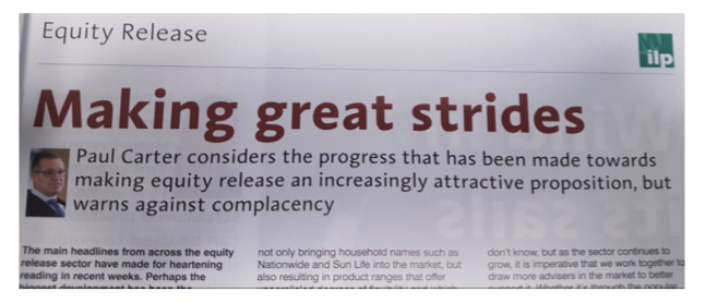 Making great strides article